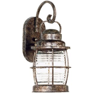 Beacon 1-Light Outdoor Wall Lantern By Wildon Home ® Outdoor Lighting