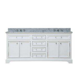 Colchester 60  Double Sink Bathroom Vanity Set   WhiteDouble Vanities You ll Love   Wayfair. Bathroom Vanity 60 Double Sink. Home Design Ideas
