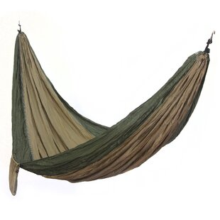 Novica Charly Artisan Putu Oka Mahendra Parachute Nylon Camping Hammock