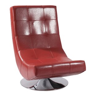 Armen Living Mario Swivel Lounge Chair