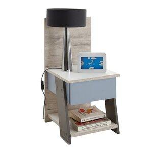 Nachttisch Nona mit Schublade von FMD
