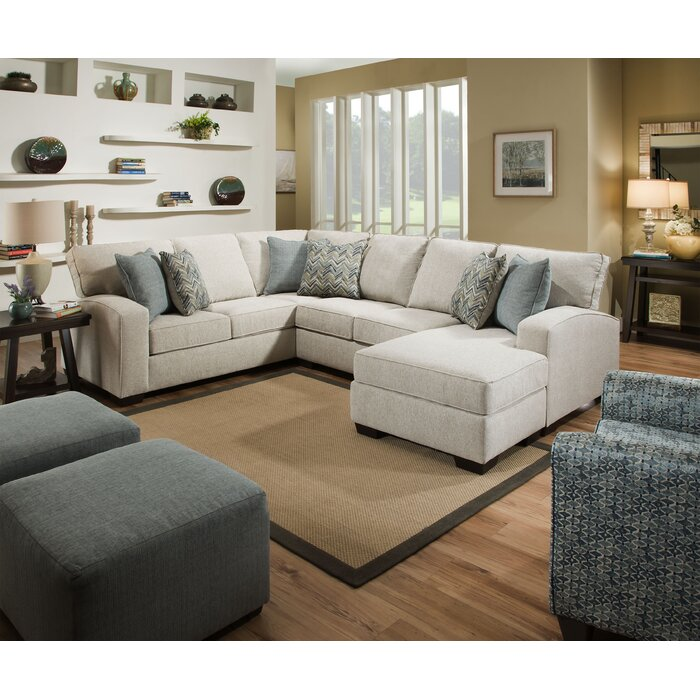 Incredible Henton Left Hand Facing Sectional Uwap Interior Chair Design Uwaporg