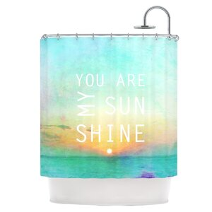 You Are My Sunshine Shower Curtain