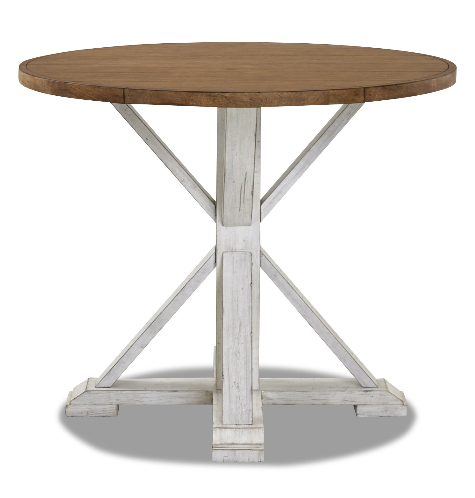 Counter High Round Table.Trisha Yearwood Home High Life Counter Height Dining Table