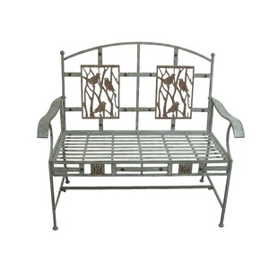 Alpine Metal Garden Bench