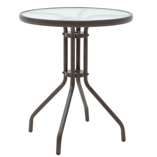 Alma Metal Bistro Table By Sol 72 Outdoor