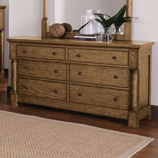 Loon Peak Burndale 6 Drawer Double Dresser