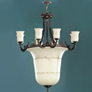 Zanin Lighting Inc. Vidra 16-Light Shaded Chandelier