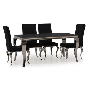 Bowermans Dining Set With 4 Chairs