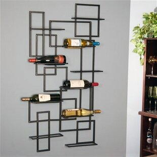 Darren Mid Century 10 Bottle Wall Mounted..