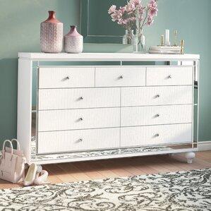 Rivage 9 Drawer Standard Dresser by Willa Arlo Interiors