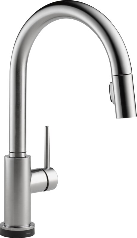 Bathroom Faucets Etobicoke delta trinsic® kitchen single handle pull down standard kitchen