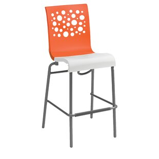 Leigh Woods Stacking Bar Stool Latitude Run