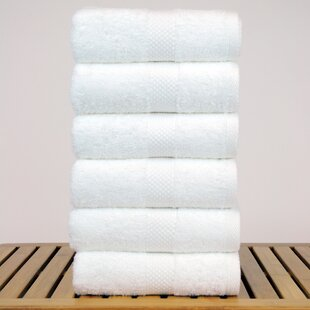 Petal 100% Cotton Hand Towel (Set of 6)