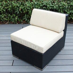 Wade Logan Baril Armless Chair with Cushi..