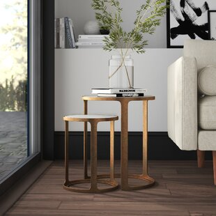 Sherer 2 Piece Nesting Tables