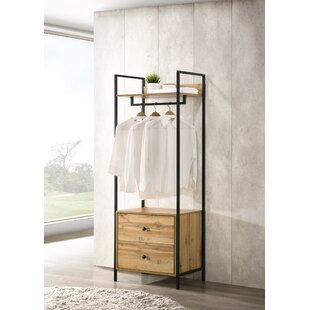 Brant 63.8cm Wide Clothes Storage System By Borough Wharf