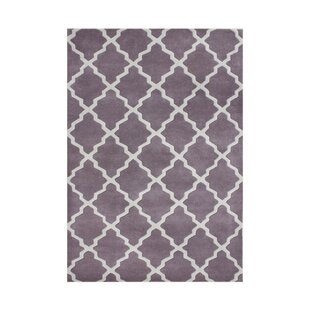 Compare Sandy Hand-Tufted Purple Area Rug By The Conestoga Trading Co.