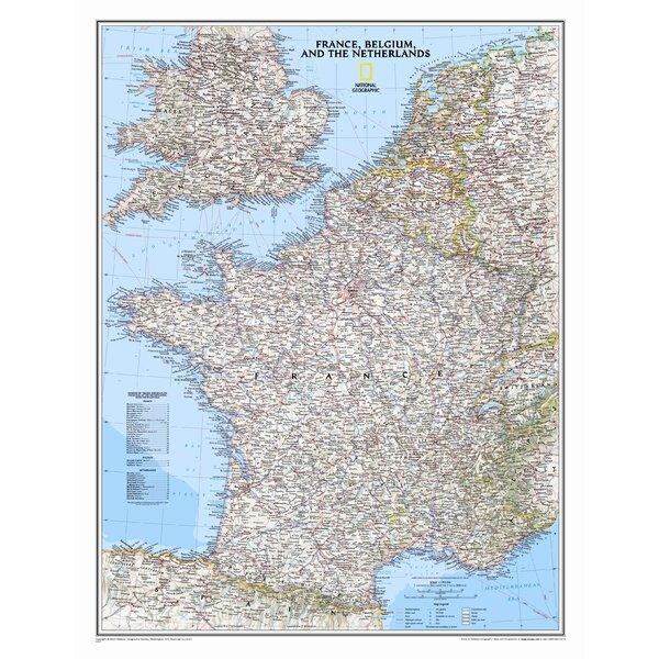 National geographic maps france belgium and the netherlands national geographic maps france belgium and the netherlands classic wall map wayfair gumiabroncs Choice Image