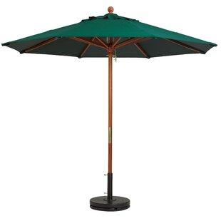 Grosfillex Commercial Resin Furniture 9' Market Umbrella