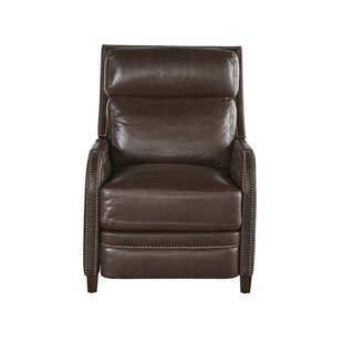 Clearance Mancuso Leather Recliner by Red Barrel Studio Reviews (2019) & Buyer's Guide