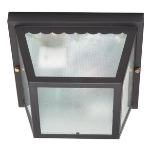Pothier 2-Light Outdoor Flush Mount