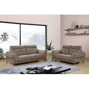 Dela 2 Piece Living Room Set by Hokku Designs