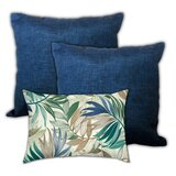 Rudden Wind in the Tropics Indoor / Outdoor Pillow