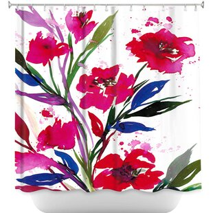 Pocketful Posies Single Shower Curtain
