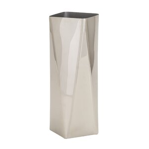 Buy Stainless Silver Steel Vase!