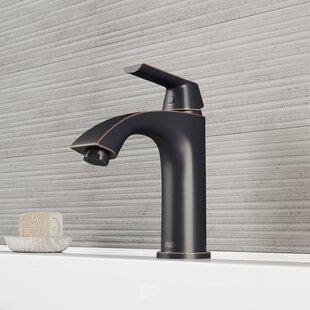 Penela Single Hole Bathroom Faucet with Optional Drain Assembly By VIGO