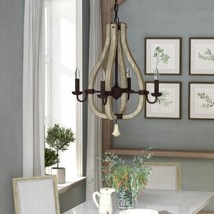 Inexpensive Oceane 4-Light Empire Chandelier By Lark Manor