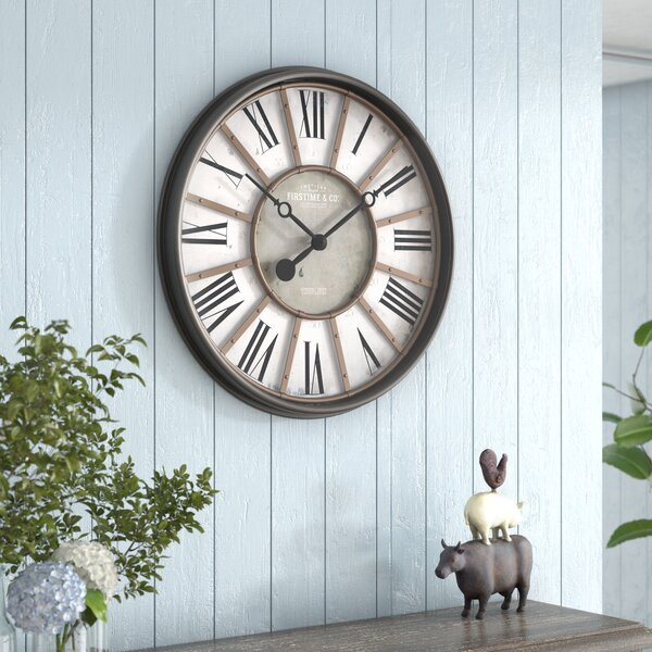 Sterling And Noble Clock Wayfair