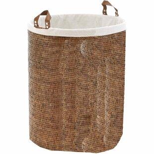 Mistana Single Round Spa Laundry Hamper w..