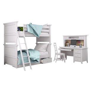 Poulan Standard Bunk Bed Configurable Bedroom Set