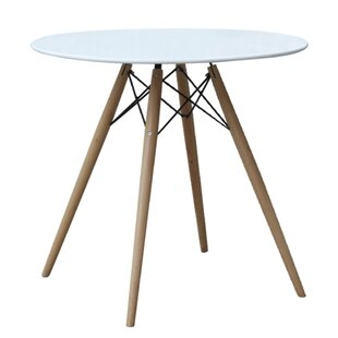 Fine Mod Imports Wood Leg Dining Table