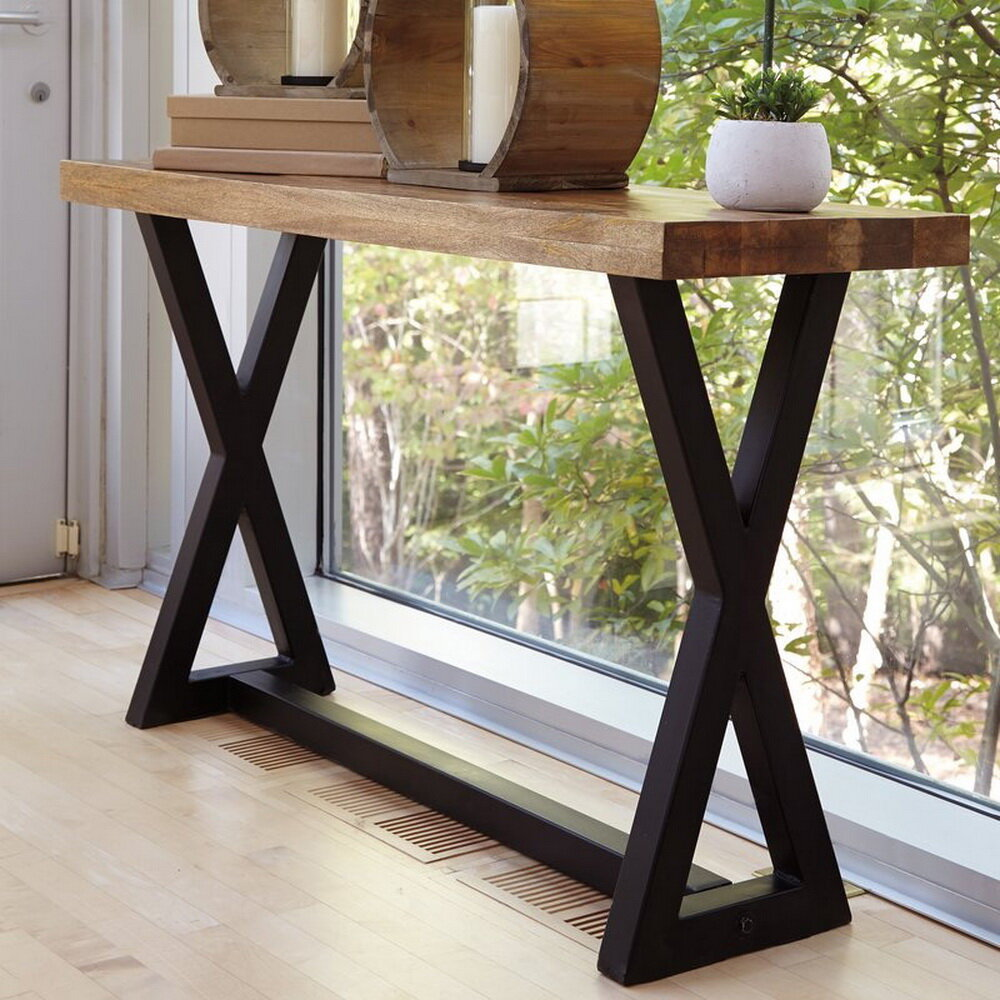Gracie Oaks Mortensen Transitional Console Table Wayfair