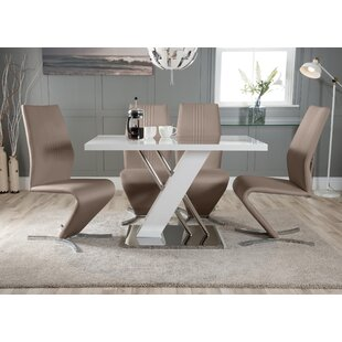 Riddleville Dining Set With 4 Chair By Wade Logan
