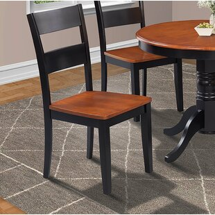 Charlestown Solid Wood Dining Chair (Set of 4) Alcott Hill