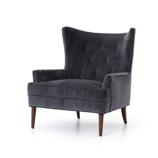 Stefania Wingback Chair by 17 Stories