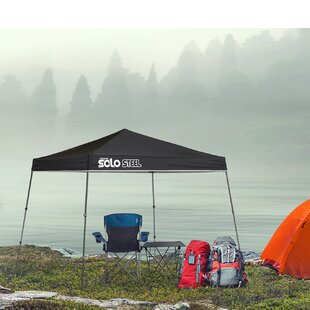 Solo Steel 8 Ft. W x 8 Ft. D Steel Pop-Up Canopy by QuikShade