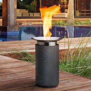 Blomus Luna Ceramic Gel Fire column