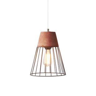Light Society Burgess Caged 1-Light Cone ..