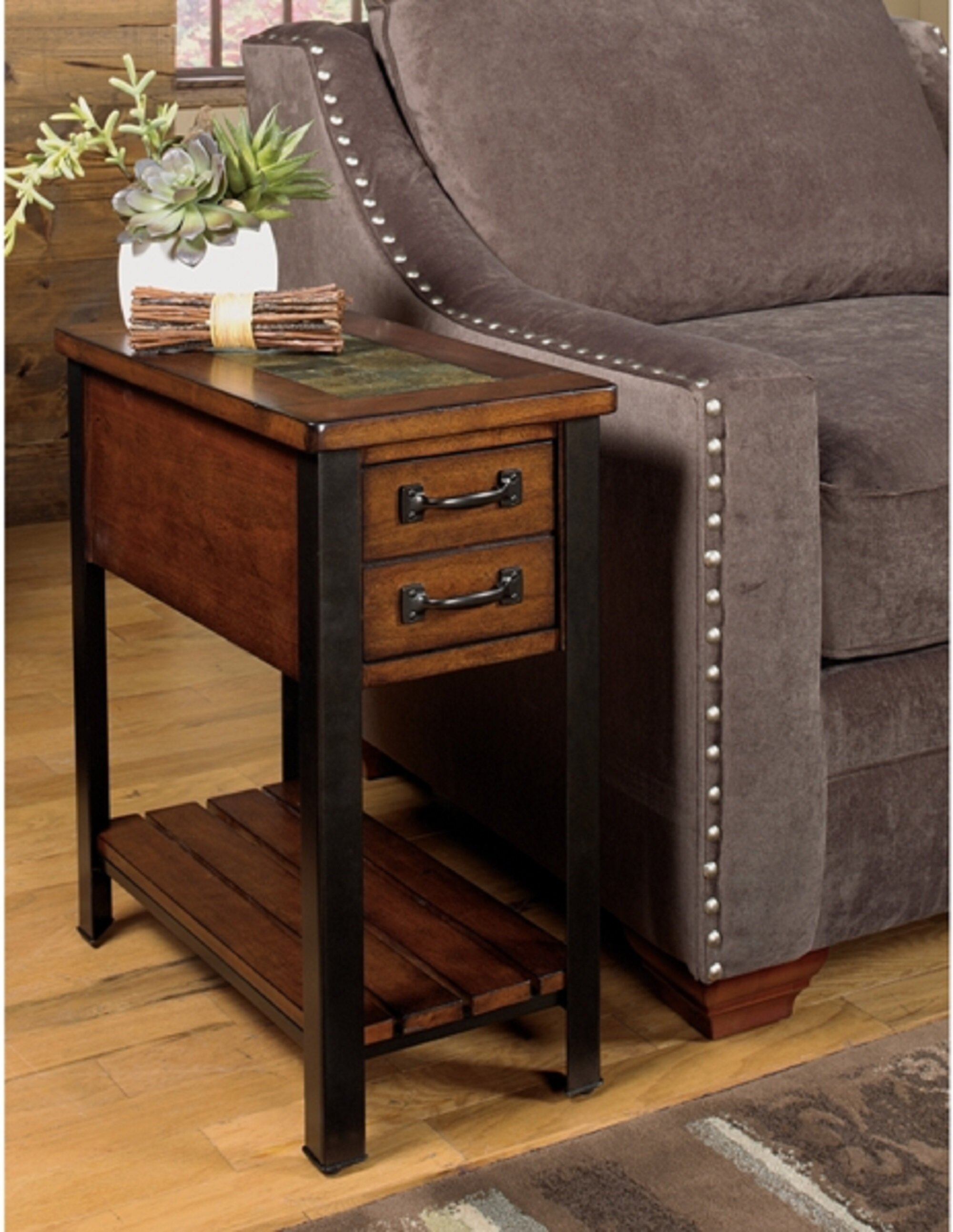 Wildon Home 3013 End Table With Storage Reviews Wayfair