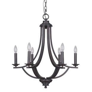 Mariana Home Dapper 6-Light Chandelier