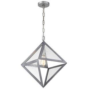 Brayden Studio Fannie 1-Light Pendant