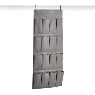 16 Pair Hanging Shoe Organiser By Rebrilliant