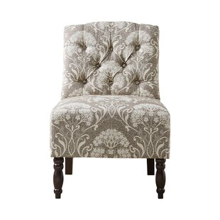 Charlton Home Behling Tufted Slipper Chair