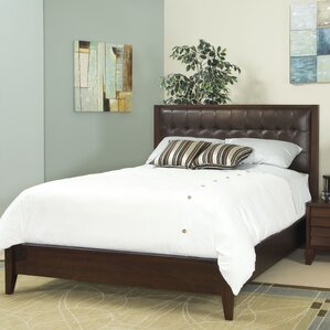 Island Upholstered Panel Bed by Home Image