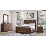 Dutra Platform 5 Piece Solid Wood Bedroom Set by Millwood Pines